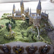 Picture of print of Hogwarts Castle