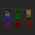 Minecraft character stamp image