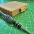 Pocket precision bit screwdriver set + case image