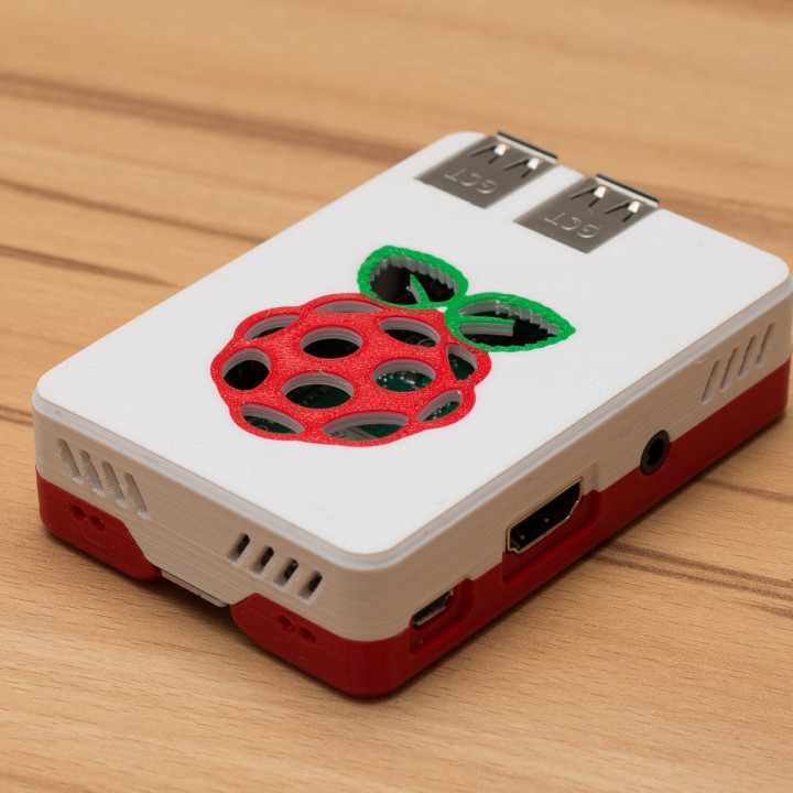 Malolo's screw-less / snap fit Raspberry Pi 3 Model B+ Case & Stands