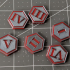Wargaming Objective Tokens (40k, Kill Team, etc.) image