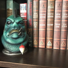 Picture of print of Donnie Lagoon Bust