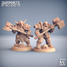 Dwarven Two-Handed Specialists - 2 Modular Units