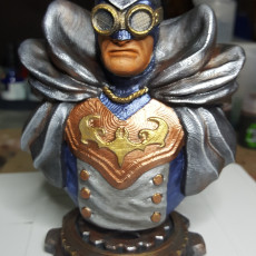 Picture of print of Batman - Steampunk/Victorian edition