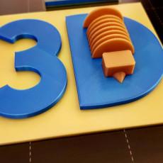 LOGO 3D DRUCK & SUPPORT MULTICOLOR