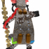 Neutral Wizard Robot Vintage  scale 1/56 28mm Set 3/? image