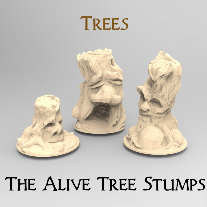 The Haunted Tree Stumps