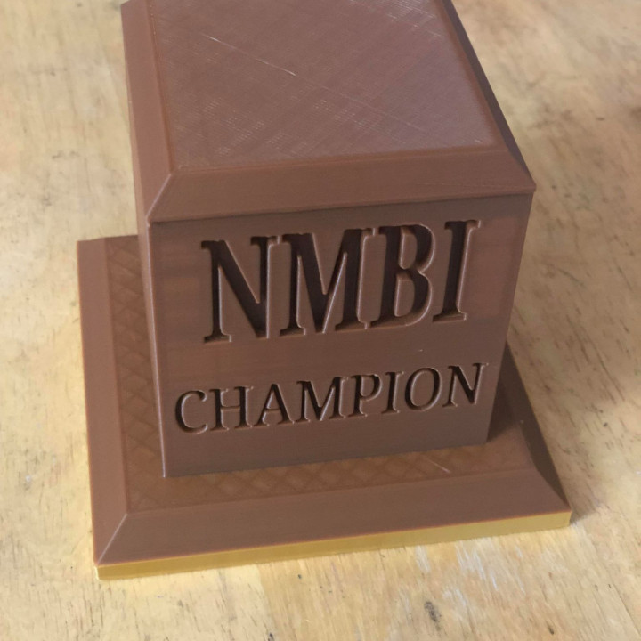 Trophy Base (Customizable)