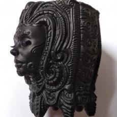 ornate pen holder