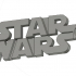 STAR WARS LOGO KEY CHAIN image