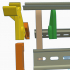 DIN rail stand XL image