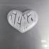 Heart Shaped Name Pendant image