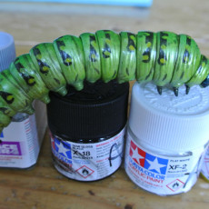 Picture of print of Juicy Caterpillar