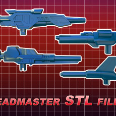 Classic/Universe Autobot Headmaster Weapons