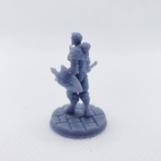 Picture of print of RPG Fighter - Multipart with build options (32mm scale)
