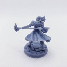 Picture of print of RPG Wizard- Multipart with build options (32mm scale)