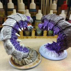 Picture of print of Purple Worm