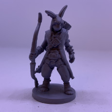 Picture of print of Rabbit Archer