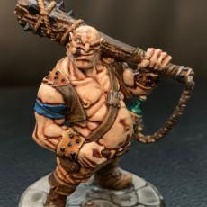 Picture of print of Dunn Half-Ogre - Half Ogre Thug