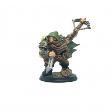 Picture of print of Merrian Silverfinger - Dwarven Thief Hero