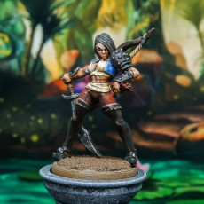 Picture of print of Aline the Bold - Rogue Heroine