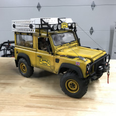 Camel Trophy parts For The RC4WD D90