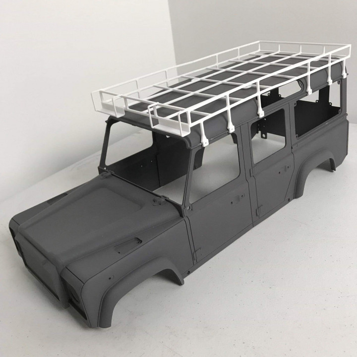 Camel Trophy parts For The RC4WD D110