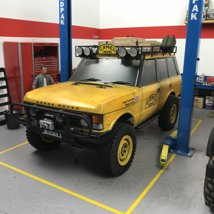 Camel Trophy parts For The Carisma Range Rover