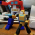 ARTICULATED G1 TRANSFORMERS BUMBLEBEE - NO SUPPORTS print image