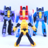 ARTICULATED G1 TRANSFORMERS BUMBLEBEE - NO SUPPORTS image