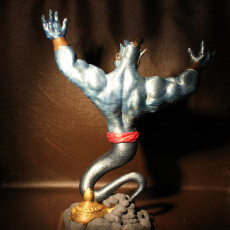 Picture of print of Aladin's Genie