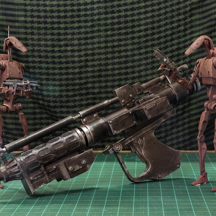 Star Wars Battle Droid Blaster