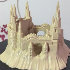 Picture of print of Sandcastle
