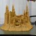 Sandcastle print image