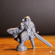 Picture of print of RPG Death Knight (32mm scale) This print has been uploaded by Hanson Gardner