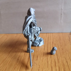 Picture of print of RPG Death Knight (32mm scale) This print has been uploaded by Rex Bigger