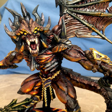 Picture of print of Baalzrodan the Demon King