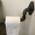 Toilet Paper Holder 3D Print (Mimic Industrial Pipe) image