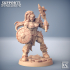 Orc Barbarian - C (Lady) Modular image