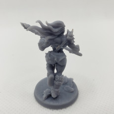 Picture of print of Orc Barbarian - D (Lady) Modular