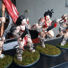 Picture of print of Orc Barbarians Set - 6 Modular Unit
