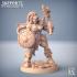 Orc Barbarians Set - 6 Modular Unit image