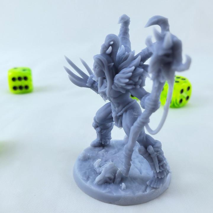Vesdra the Shaman - Lady Orc Shaman/Druid