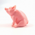 Piggy Sitting(Sir Pigglesfree): Single Extrusion Version image