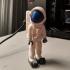 Astronaut print image
