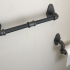 Towel Rack 3D Print (Mimic Industrial Pipe) image