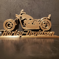 Picture of print of Harley Davidson