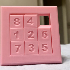 Picture of print of 3x3 Slide Puzzle