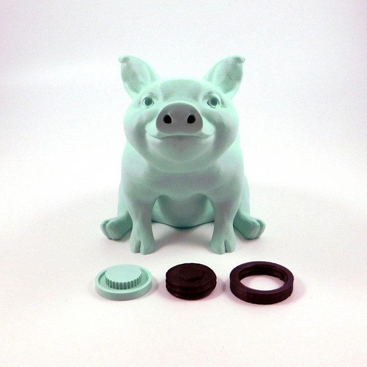 Piggy Sitting: Piggy Bank Version