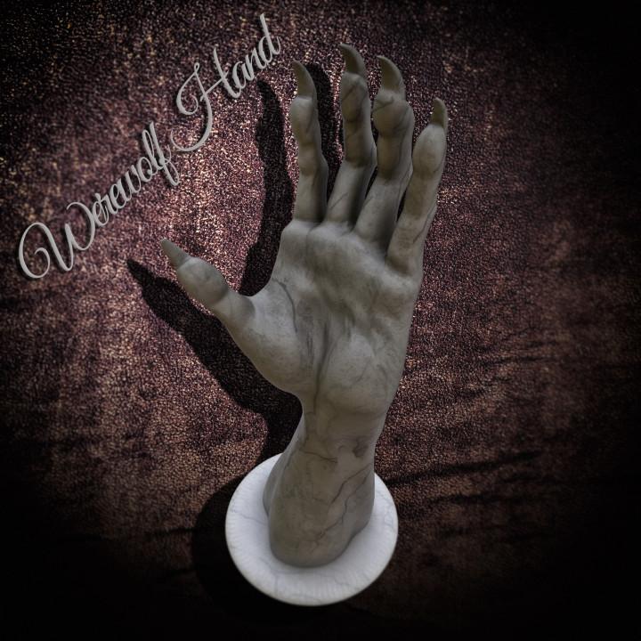 Werewolf Hand